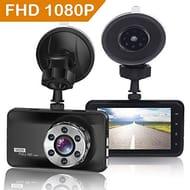 Dash Cam 1080P Full HD Car Camera DVR Dashboard Camera Video Recorder