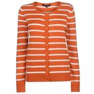Miso Stripe Button Cardigan Ladies