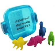 Mini Novelty Erasers Pack - Dinosaurs