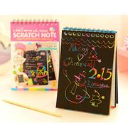 Scratch Note DIY Kids Painting Art Papers Notebooks for Children (10 X 14cm)