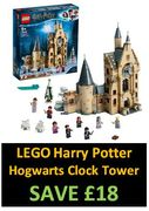 SAVE £18 - LEGO Harry Potter Hogwarts Clock Tower - (75948)