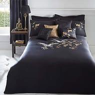 Crane Duvet Cover & Standard Pillowcase Set