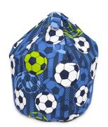 Football Bean Bag - Blue Only £11.19