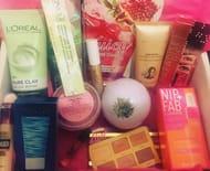 Beauty Treat Box Free P&p