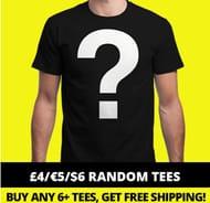 Qwertee Random T Shirt Design for £4
