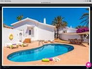 Villa Marismas Sol in Menorca for four people. Villa only. Price per person.