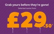 Premier Inn Summer Sale - Rooms from £29.50!