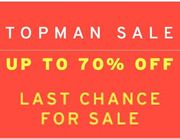 TOPMAN SALE - up to 83% OFF