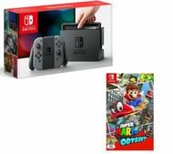 NINTENDO Switch & Super Mario Odyssey Bundle Only £299