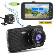 55% off Dual Dash Cams for Cars with 32GB SD Card Included1080P Full HD £28.35