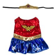 Pets at Home Small Dog Wonder Woman Costume