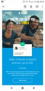 Refer a mate and you can get £10 - Invite for new users only!
