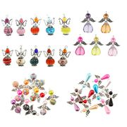35 x Guardian Angel Wings Charms Pendants FREE DELIVERY