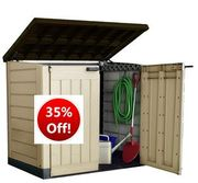 SAVE £52 - KETER Store-It out Max Outdoor Storage Shed