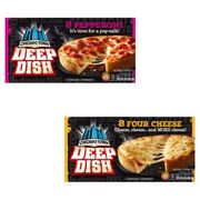 Chicago Town Deep Dish Pepperoni or Deep Dish Four Cheese Pizzas