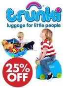 GOING CHEAP! Trunki Childrens Ride-on Suitcase