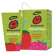 Two Packs of Innocent Smoothie Cartons for LESS than 1!