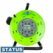 Cheap Status Workshop: 25m 4 Socket Extension Cord Reel, Only £19.99!