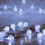 Fairy String Lights 10M 60 LEDs Lights with Remote Plug in White
