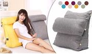 Adjustable Lounger Cushion in 9 Colours £17.98 Delivered
