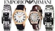 Emporio Armani His & Hers Watches - 4 Designs