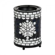 Classic Festive Blue and Silver Mosaic Collection Yankee Candle Holder