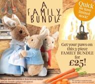 Beatrix Potter Gifts - Peter Rabbit Family Bundle