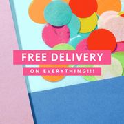 FREE DELIVERY for One Weekend Only!