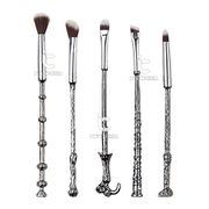 Silver Harry Make-up Brush Set 5pcs