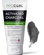 Lightning Deal Face Mask, Purifying & Detoxifying Charcoal Face Mask 75m