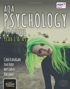 AQA Psychology for a Level Year 1 & as - Student Book Paperback 23 Mar 2015