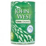 John West Tuna Chunks in Spring Water 4x132g