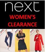 NEXT CLEARANCE SALE - FURTHER REDUCTIONS up to 80% OFF