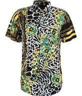 REASON Multicoloured Chain Animal Print Shirt