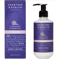 CRABTREE & EVELYN Lavender & Espresso Body Lotion 250ml