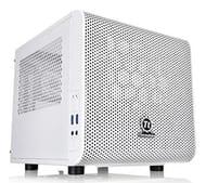 Thermaltake Core V1 Mini ITX Case - Snow Edition