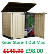 Keter Store-It out Max Garden Storage Shed