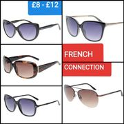 FRENCH CONNECTION LADIES SUNGLASSES Was £39.99 NOW £8 - £12