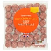 2 X 600g Beef Meatballs at Morrisons