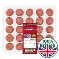 British Beef Meatballs 700g 3 for £10