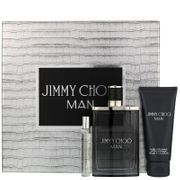 Jimmy Choo Man Eau De Toilette Spray 100ml Gift Set