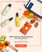 Get a Free Cleanser When You Spend £45