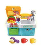 LeapFrog Scrub & Play Toy Sink Toy | Play Kitchen Accessories for Pretend Play
