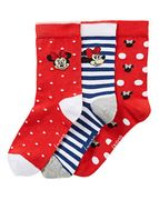 Minnie Mouse Socks Pack of 3