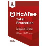 McAfee 2018 Total Protection | 5 Devices | Free Delivery at Tesco/Ebay
