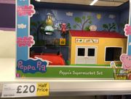 ** Half Price ** Peppa Pig Supermarket Set - Instore Liverpool
