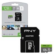 PNY Elite 128GB MicroSDXC Class10 UHS-1 U1 w/Adapter £13.99 Delivered at 7Dayshop