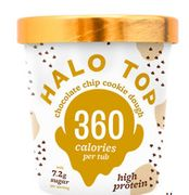Halo Top Chocolate Chip Cookie Dough Ice Cream Only £3.5