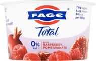 FAGE Total 0% Fat Greek Yogurt with Raspberry & Pomegranate