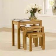 Oxford Oak Nest of Tables - Save £100